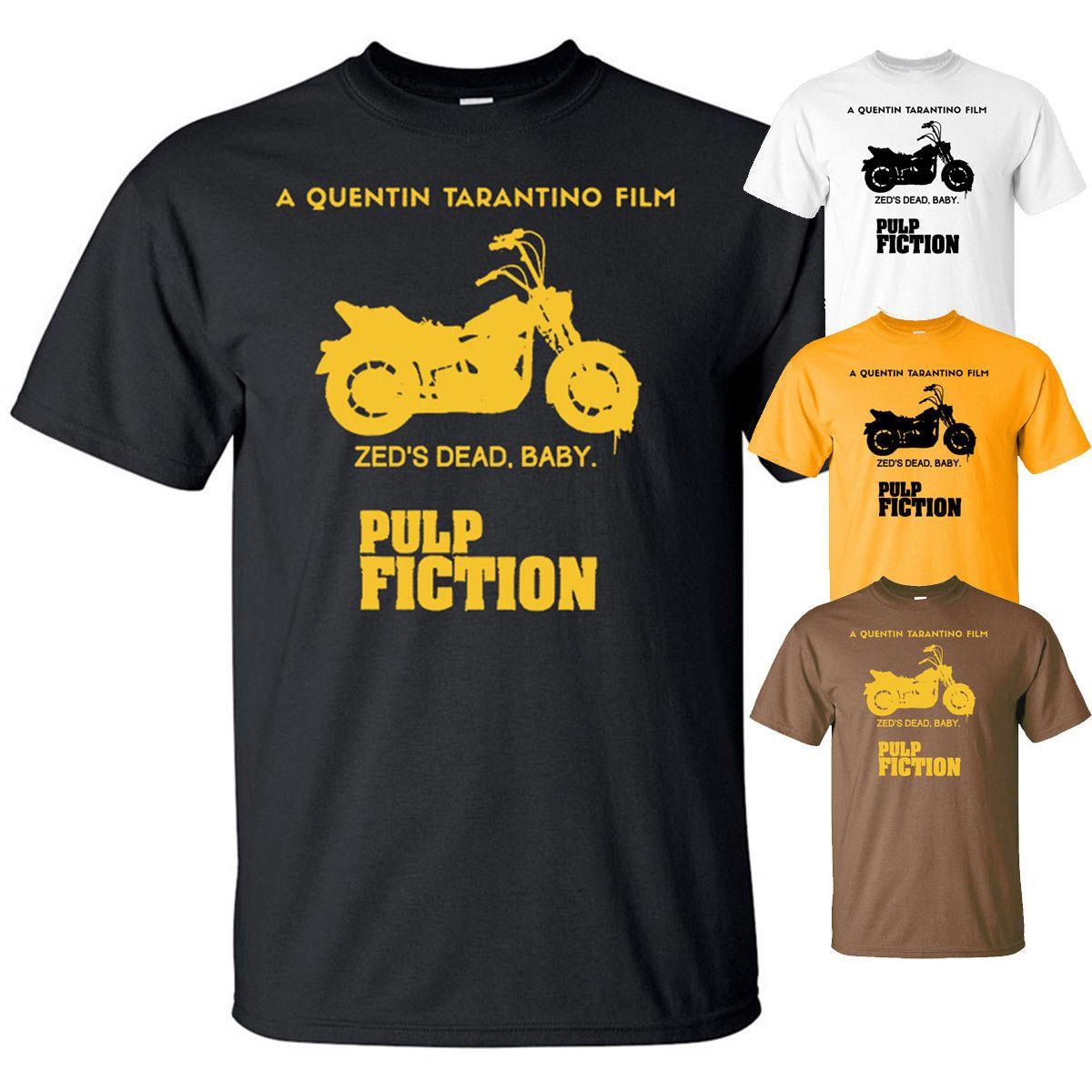 Pulp Fiction v4, John Travolta,Ving Rhame ,movie poster, T-Shirt All sizes  S-3XL