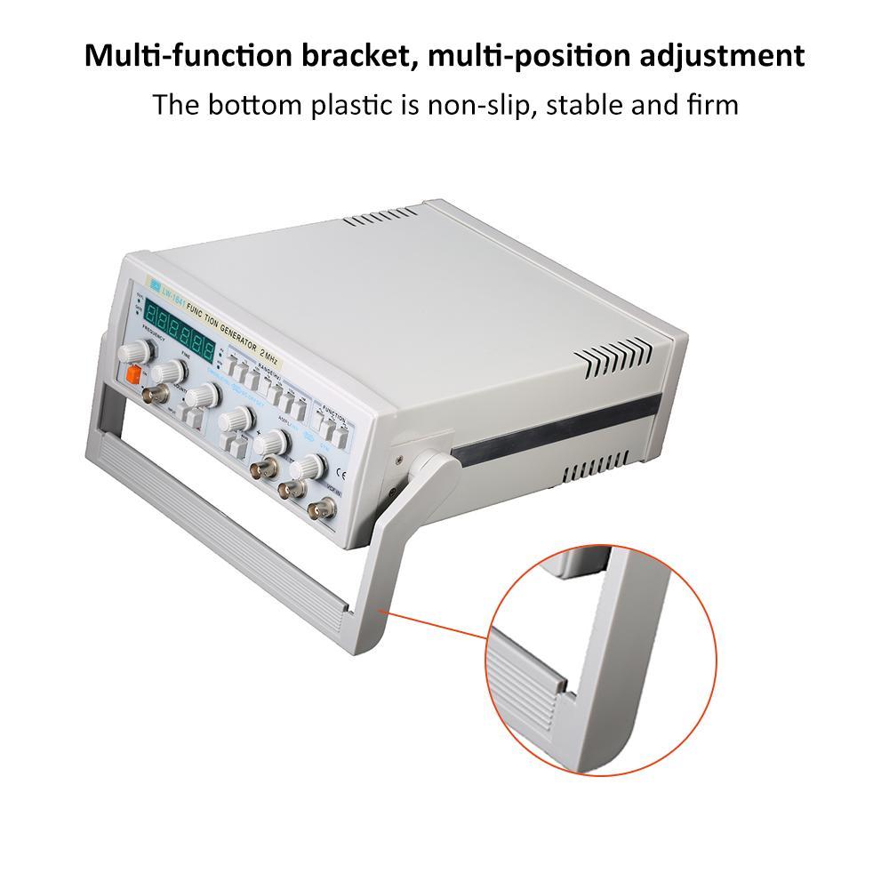 Wave-Digitalfunktionssignalgenerator Waveform-Generator 0,1 Hz-2 MHz Frequenzmesser AC 220 V