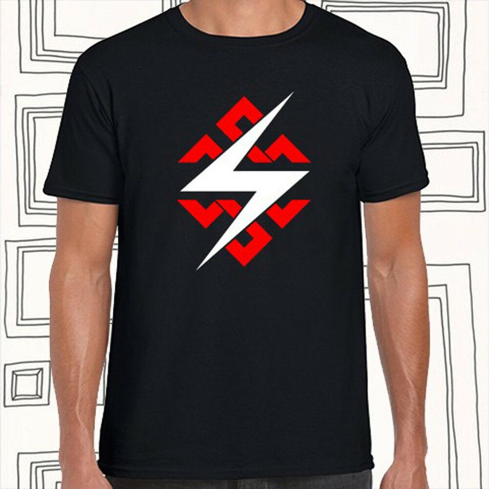 T-shirt do preto Throbbing Gristle Logo Rock Legend Men