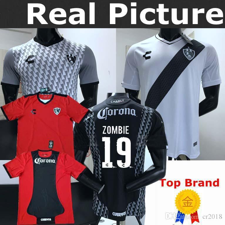 200f91e1a 2019 CUERVOS 2019 2020 Soccer Jerseys Top Best Quality 19 20 CLUB DE  CUERVOS ZOMBIE 19  TORTU 1  Goalkeeper Home Away Third Football Shirts From  Cr2018