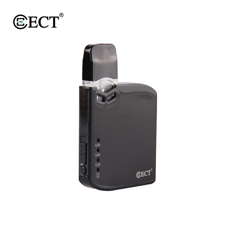 In stock!!! 100% Original ECT Robin battery Pod Kit Electronic Cigarette VV Box Mod Kit 0.5ml Cartridge Portable Vape Pen 0268117