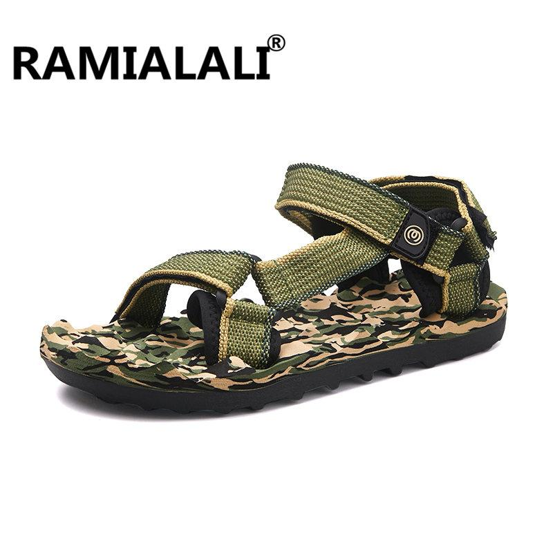 26b0982f5b6 Ramialali New Fashion High Quality Men Sandals Outdoor Casual Breathable  Slippers For Men Beach Shoes Summer Sandalias Hombre Cute Shoes Leather  Sandals ...