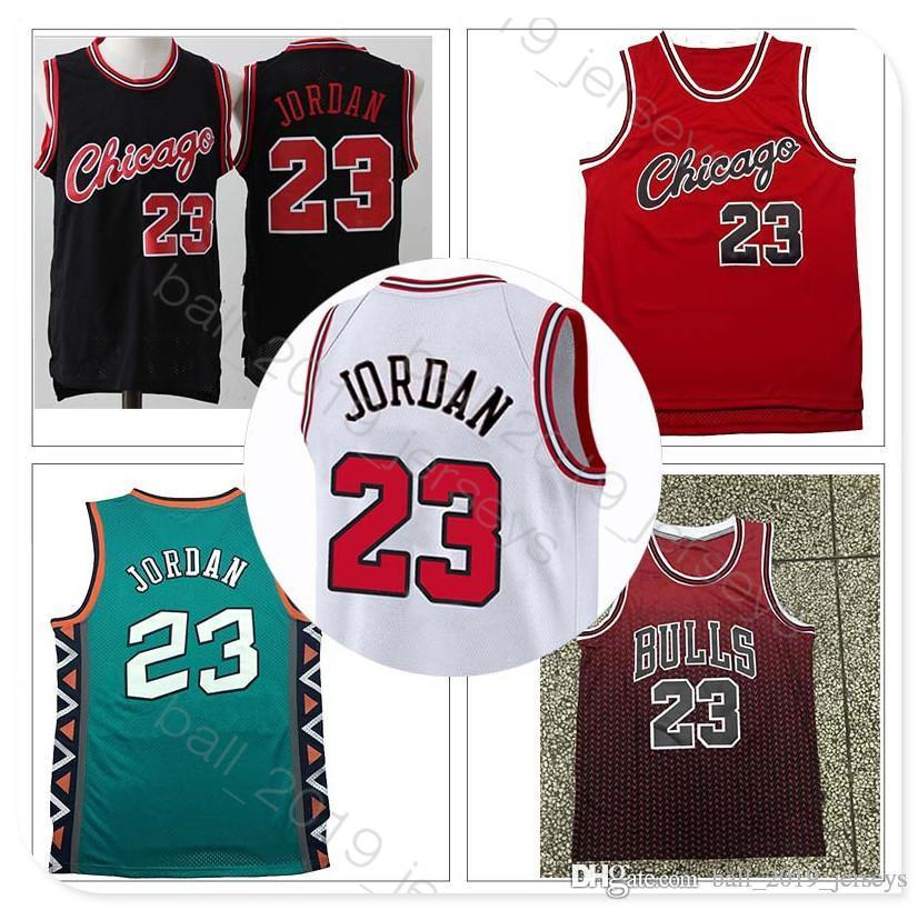 big sale 58a1e 48485 23 MJ jersey Retro Bulls jersey 33 Pippen 91 Rodman 2019 Hot sale men  basketball jerseys
