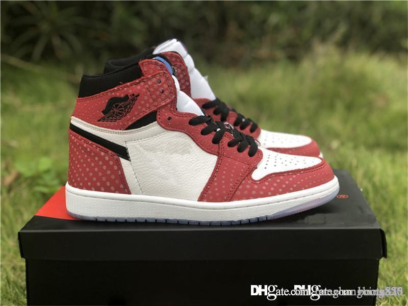 59effcd9e32e30 2018 Release Authentic 1 High OG Chicago Crystal 1S Gym Red Blue ...