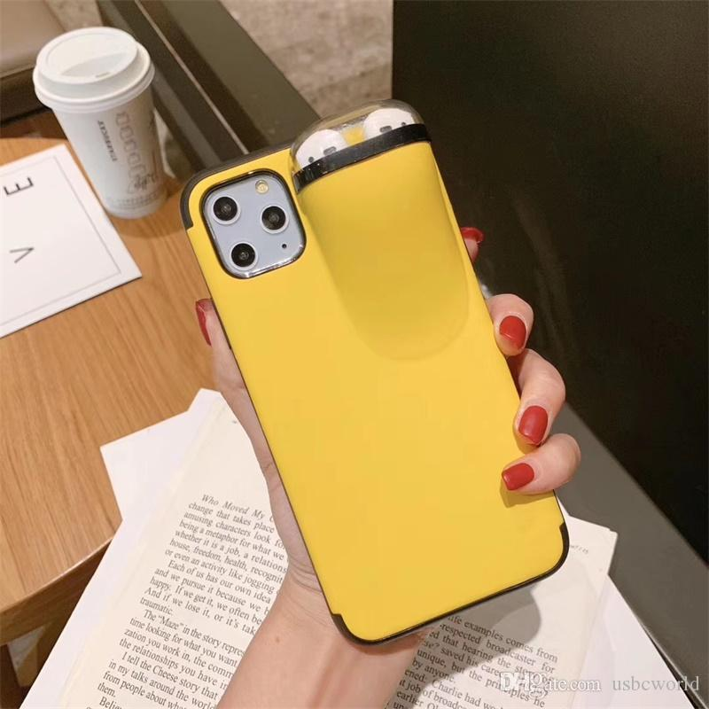 High Quality TPU PC Phone Case With Airpods Case For iphone 11 Pro Max XS MAX XR X 6S 7 8 plus