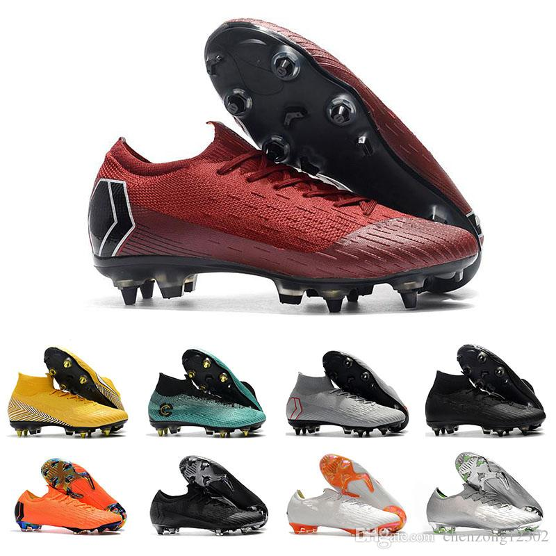 34525f98317 2018 Mens Mercurial Superfly VI 360 Elite High Ankle Soccer Cleats ...