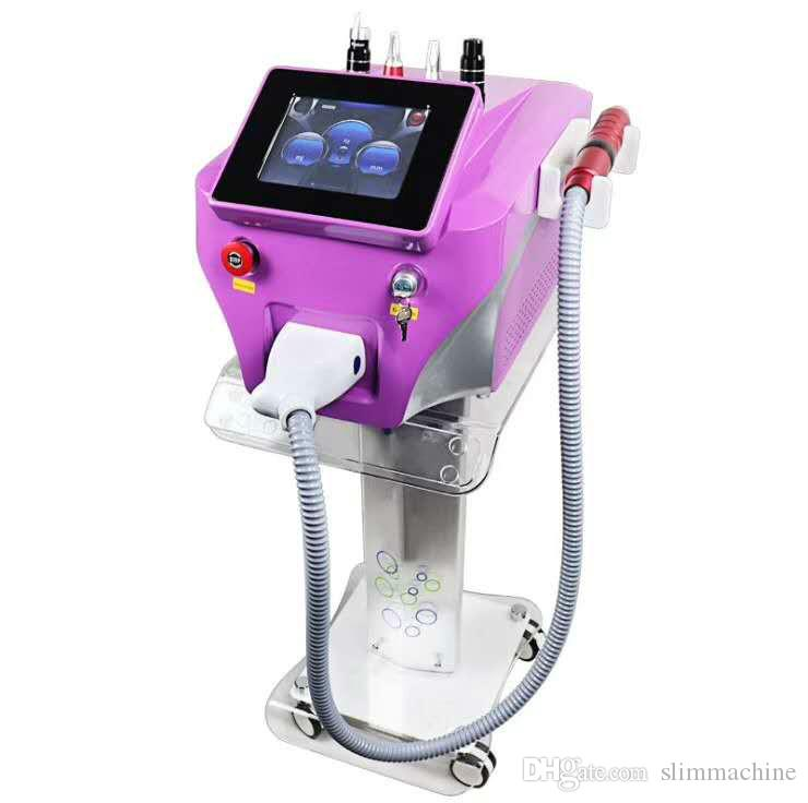 Picosecond Q Switch Picosure Laser Machine Pigment Removal with1064nm 532nm 755mm Pico Laser Ance Removal Skin Rejuvenation for Salon Clinic