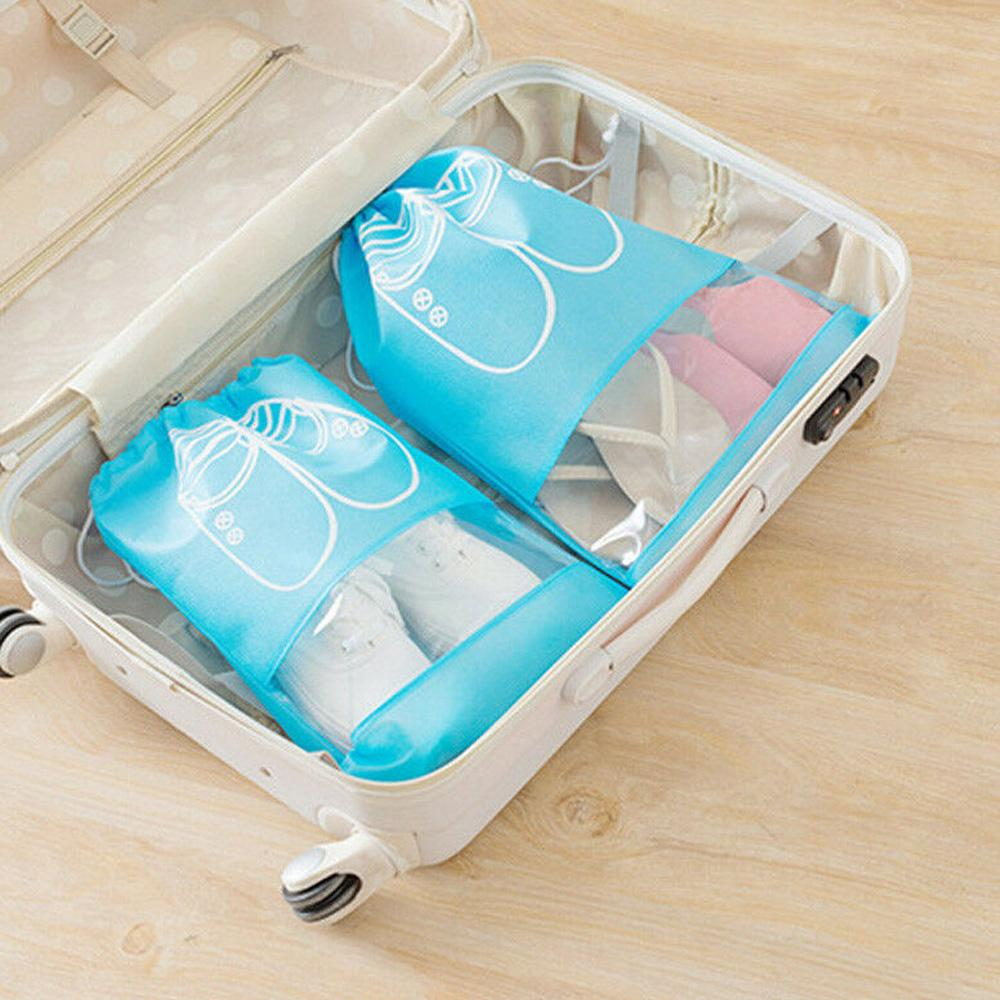 4 cores de calçados portátil Travel Bag Armazenamento organização Home Bundle Dustproof Waterproof Shoes saco de armazenamento Bag Dropshipping