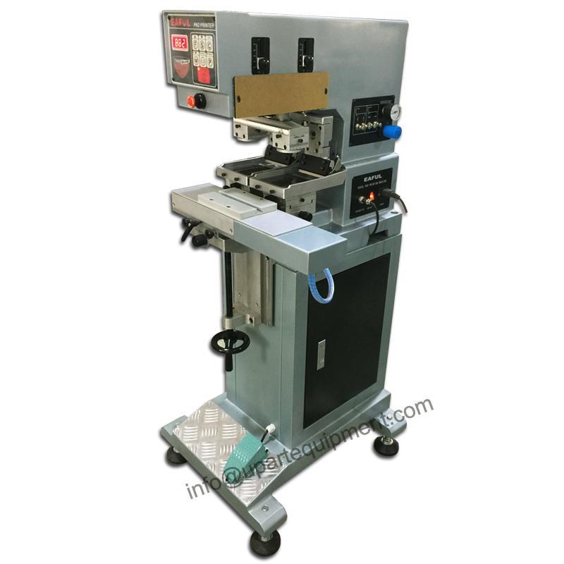 guangzhou pad printing machine,2 colors pad printing machine,2 colour  machine for pens