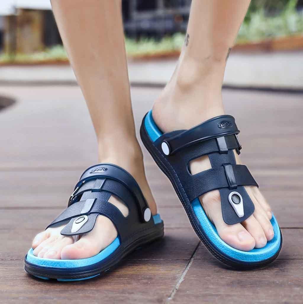 Youyedian Men Sandals 2019 Flat Flip Flops Slippers Men Summer Beach