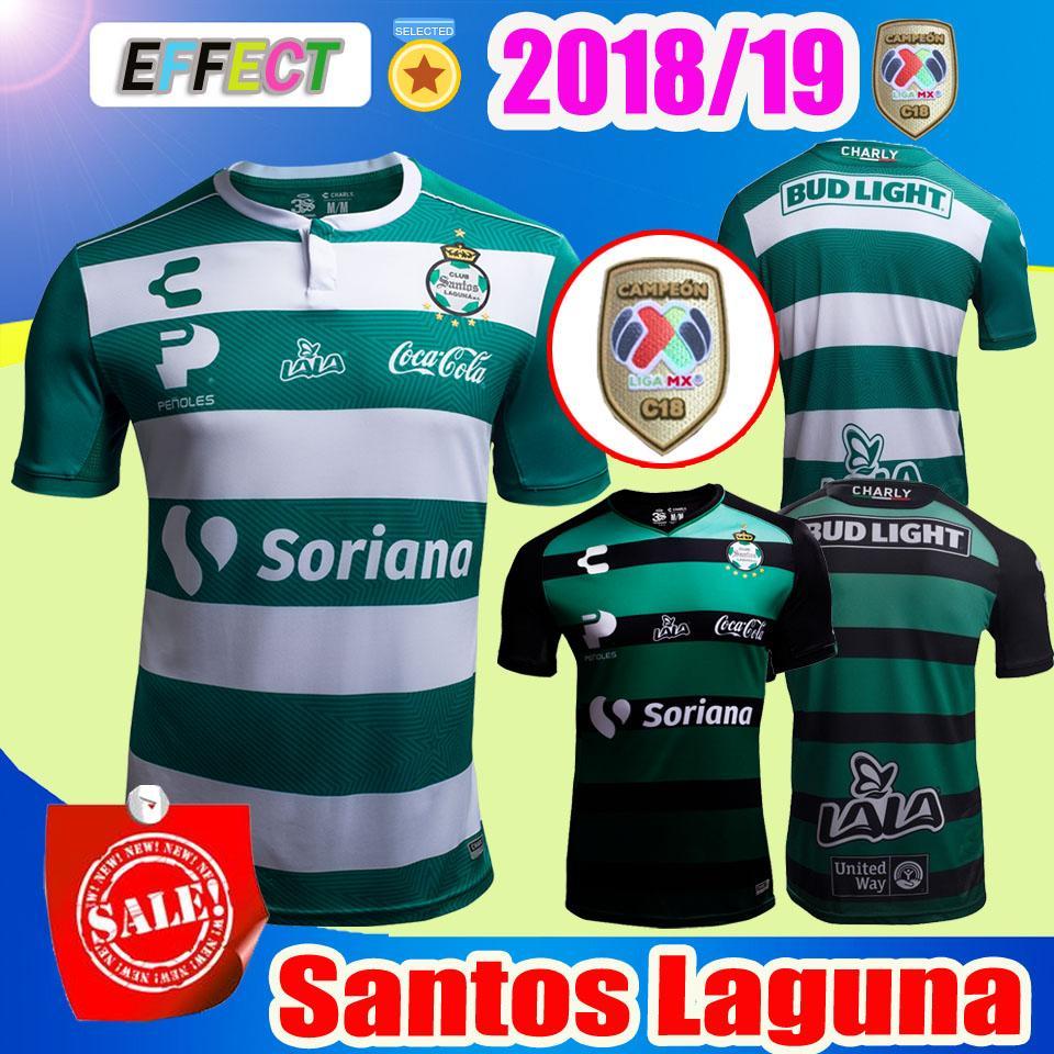 2018 MÉXICO CLUB CHARLY Laguna Soccer Jersey Inicio 18 19 LIGA MX Rivas  Lozano LEON Atlas PACHUCA Necaxa Querétaro Monterrey Camiseta De Fútbol Por  ... d59d0309fb9a2