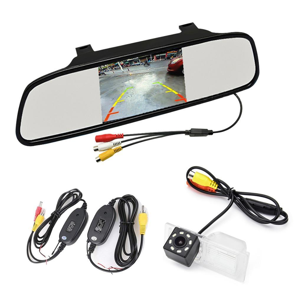 Car monitor +2.4G wireless CCD and LED Adjustable Angle Rear View Camera for Excelle GT LaCrosse Allure Encore