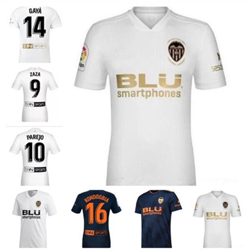 newest 03912 c69cc Thai quality Gameiro Valencia CF 2018 2019 Custom Soccer Jerseys 18 19  Batshuayi Gameiro Kondogbia football shirt