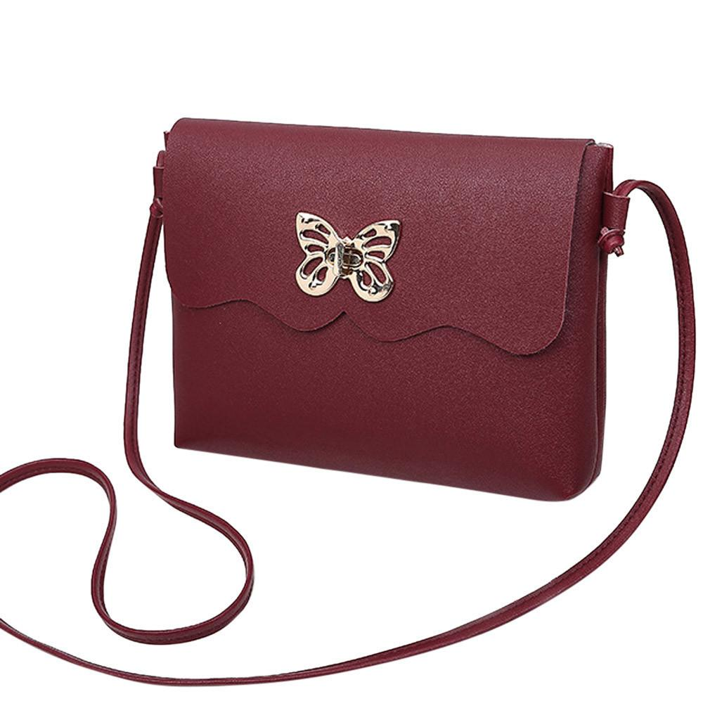 f8a5b636e8a6 Cheap 2018 Women Messenger Bags Fashion Women S Vintage Small Pendant  Leather Crossbody Shoulder Bag Bolsa Feminina Gift  YL5 Wholesale Purses  White ...