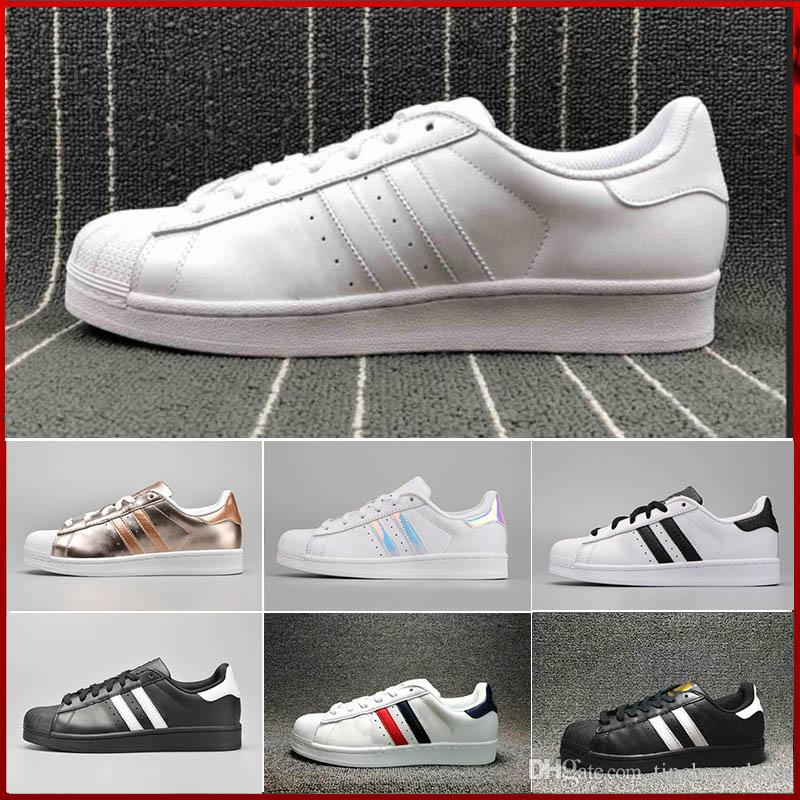 Men And Women Superstar GOLD Shoes Stan Smith Casual Shoes Factory Outlet  Size36 45 Buy Shoes Online Slip On Shoes From Tipcheapshoes 0c139055ca2f