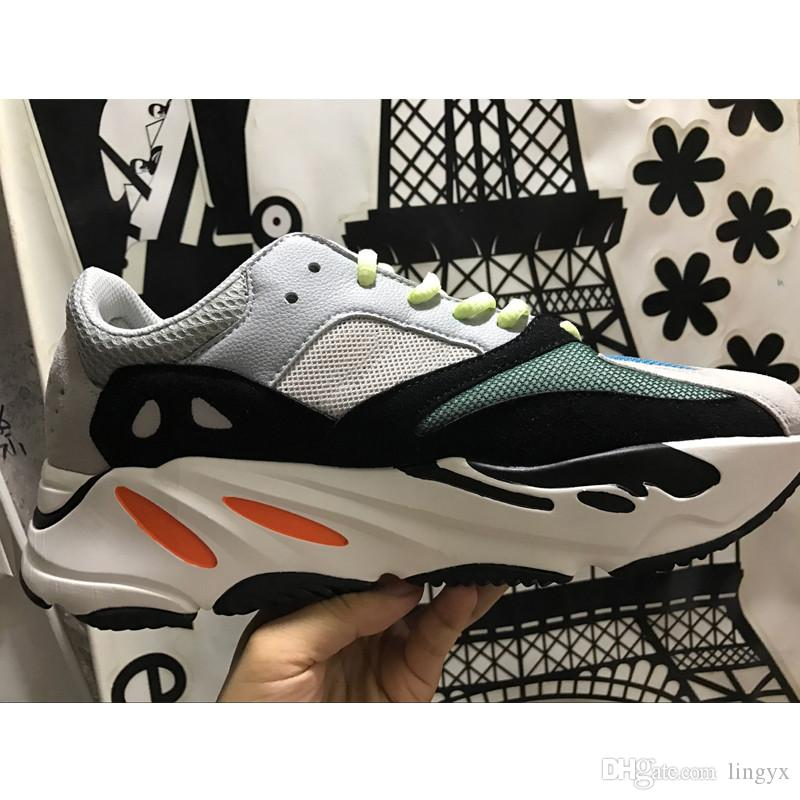 f8c021d693b7e 2019 Cheap Kanye West 700 V2 Static 3M Mauve Inertia 700s Wave Runner Mens  Running Shoes For Men Women Sport Sneakers Designer Trainers Eur 36 46 From  ...
