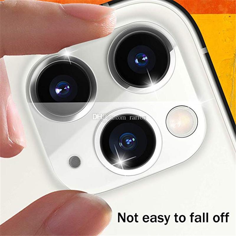 Cep Telefonu HD Kamera Lens Temperli Cam Şeffaf Ekran Koruyucu Tam Kapsama Için iPhone 13 13Pro 12 Mini 11 Pro Max XS XR Hiçbir Paket