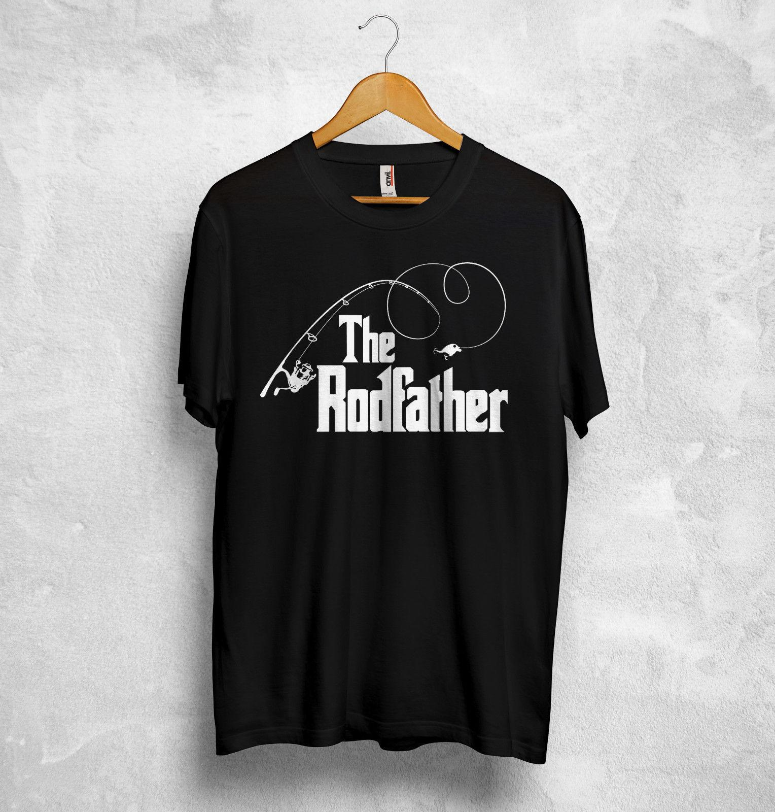 a9b5575b6 Fishing T Shirt The Rodfather Rod Fish The Godfather Gift Grandad Daddy  Father Quirky T Shirt Designs Purchase T Shirt From Nolifeshirt, $11.01|  DHgate.Com