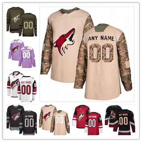 low priced 1d823 44194 2018 -2019 News Phoenix Coyotes Hockey Jerseys 23 Oliver Ekman-Larsson  Multiple styles Mens Custom Any Name Any Number Hockey Jerseys