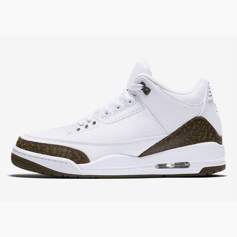 reputable site fcfec 519d8 Cheap mens 3s basketball shoes aj3 Mocha White Tan Brown JTH Bio Beige Red  Black j3 kids jumpman air flight retro sneakers tennis with box