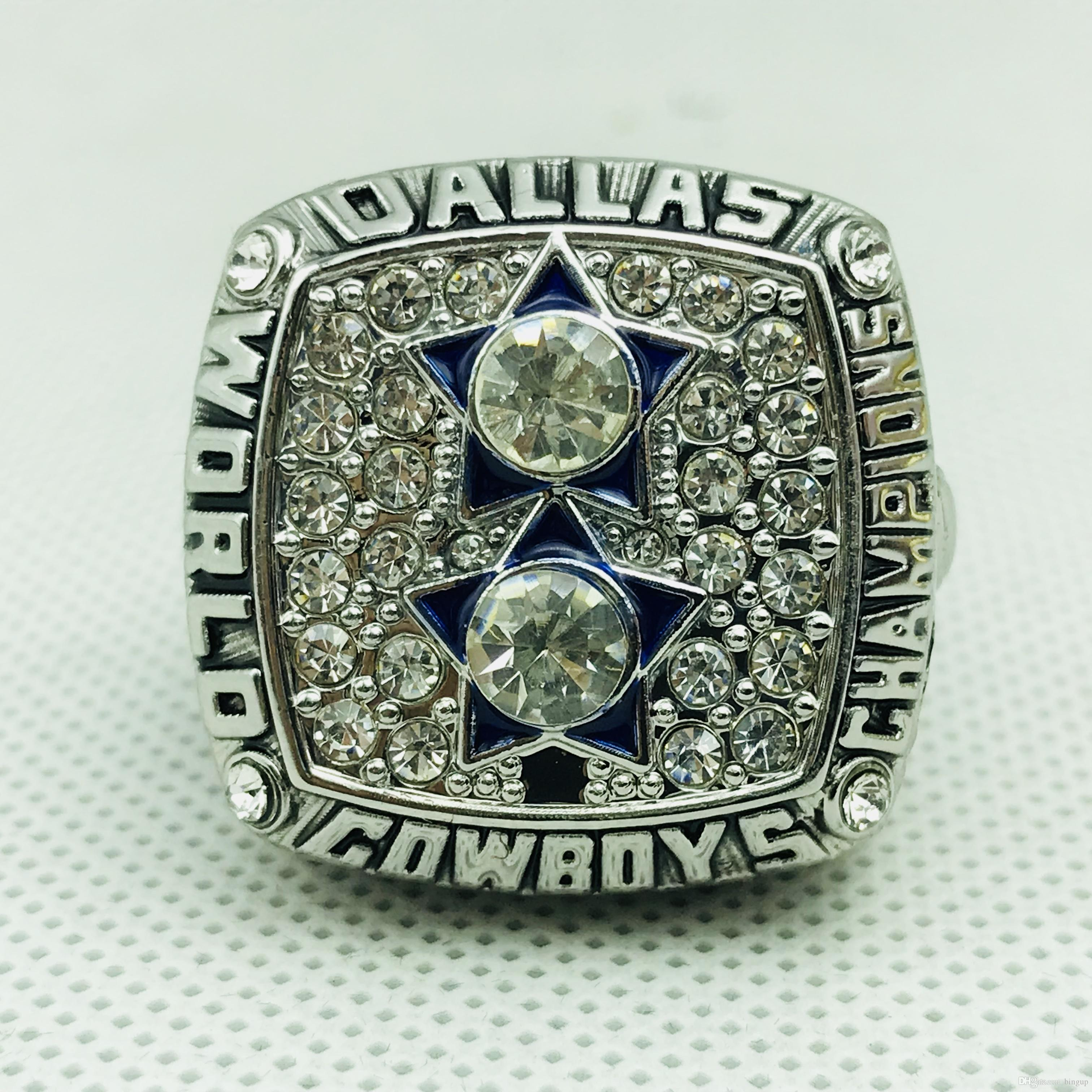1977 dallas cowboy world Championship Rings anillos deportivos