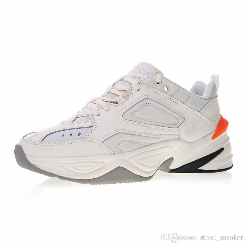 huge discount 3e8d8 0c800 Scarpe Comode Camminare Nike M2K Tekno All ingrosso M2K Tekno Vecchi Uomini  Sportivi Scarpe Da Corsa Uomo Donna Sneakers Atletica Scarpe Da Ginnastica  ...