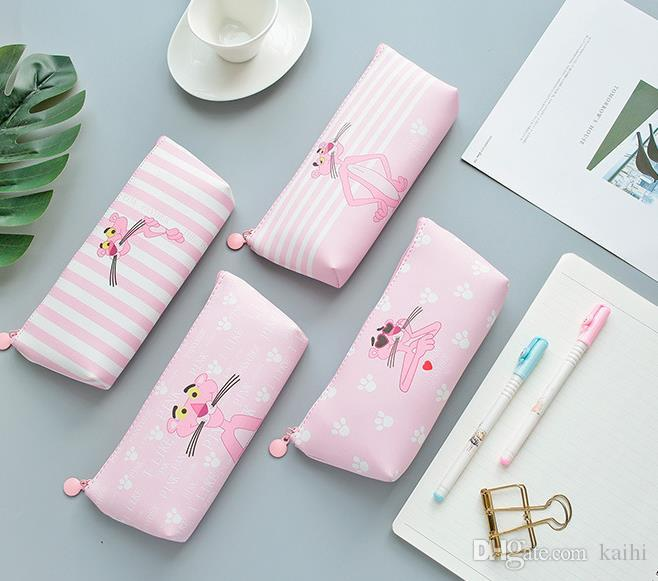 New arrival pen case pu pen bag pen pouch for students