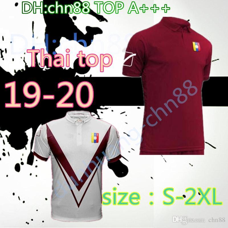 49d823d1702 S--2XL 2019 2020 Copa America Venezuela Home Soccer Jerseys Football ...