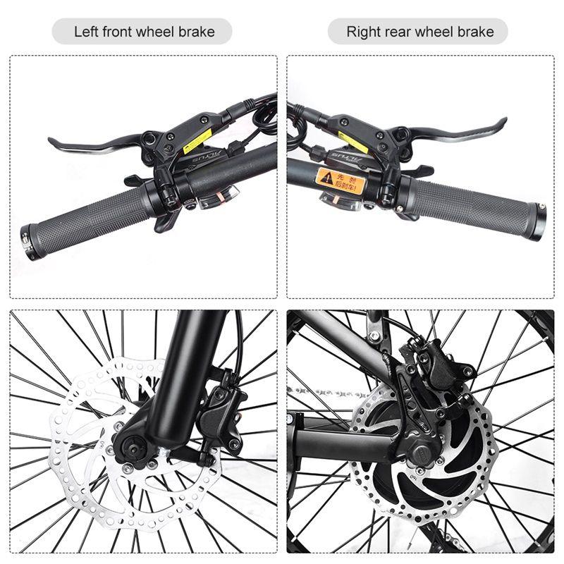 E BIKE Hydraulic Brake Set Electric Bike Brake for Bafang Hydraulic Brake SONDORS Power Cut Off Hydraulic Brakes eBike