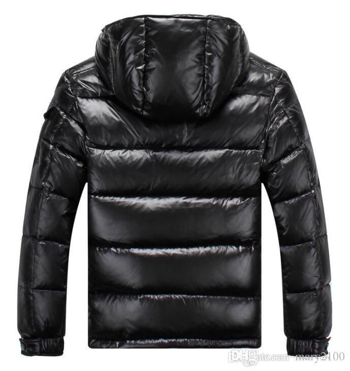 HOT Brand New Men Women Casual Down Jacket MAYA Down Coats Mens Outdoor Fur Collar Warm Feather Man Winter Coat outwear Jackets Parkas