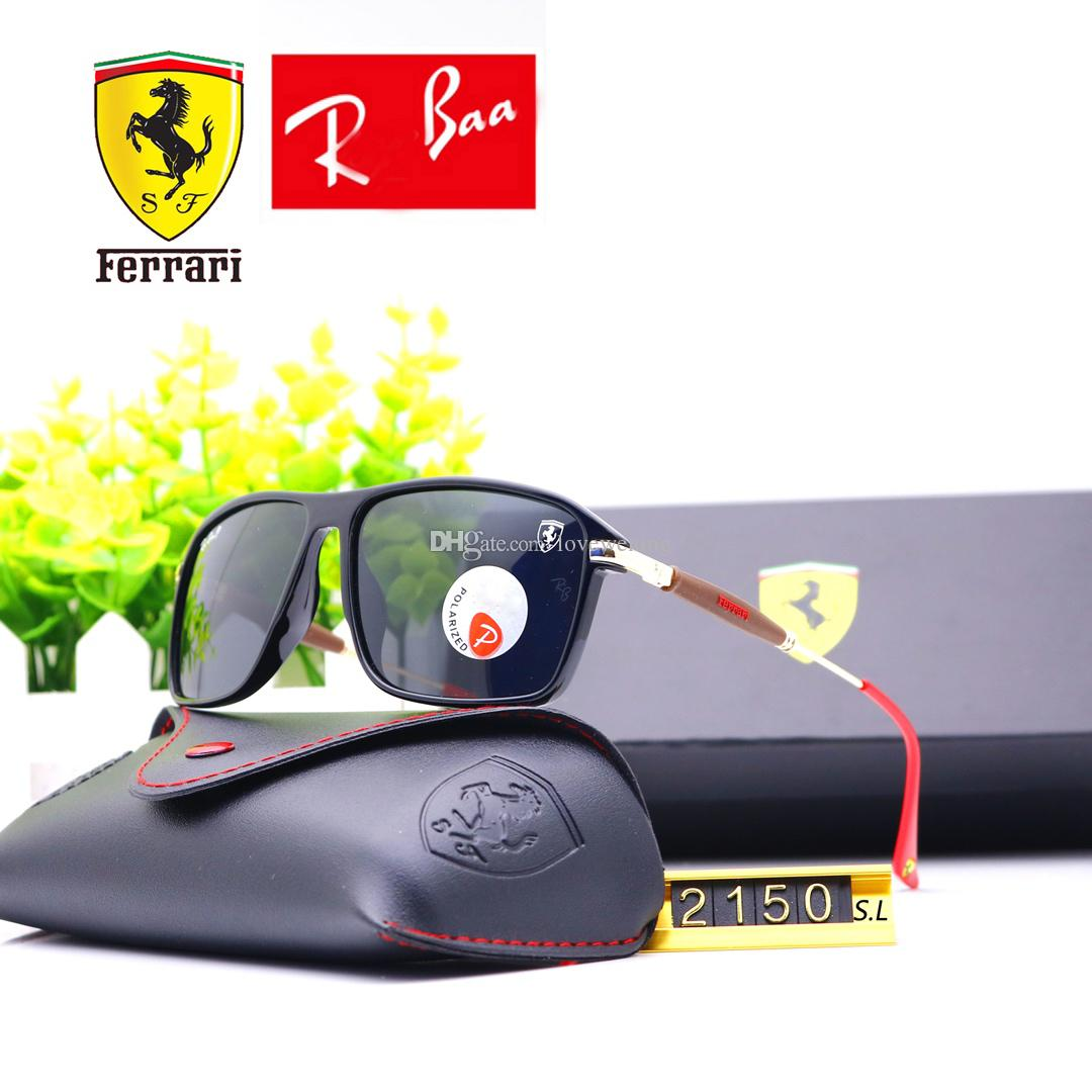 6215e94a8ad15 Classic Polarised Sunglasses Rays Men Women Glasses Ferrari Monaco Event  F2150 Gradient Polaroid Polarized Lens Spring Glasses Legs Canada 2019 From  ...