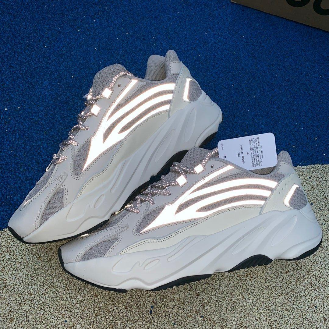 new style 1fc86 6a8f9 2019 Kanye West Wave Runner 700 V2 Static Inertia OG Boosts Designer Shoes  700 Mauve Running Shoes Mens Womens Brand Boots US Size 13