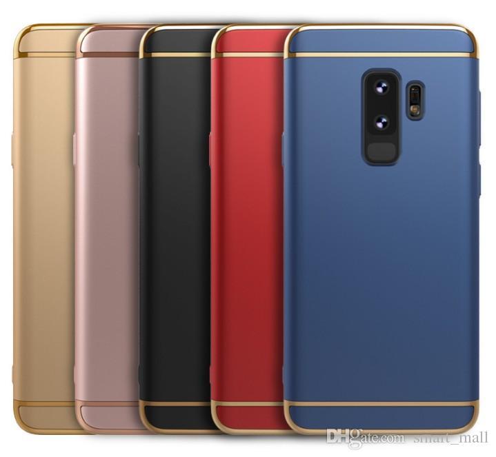 d974baf8be2 Forros Para Telefonos Para Samsung Galaxy S7 S8 S9 Funda Para Teléfono  Coque S8 Plus S9 Plus S7 Edge Chapado En Oro Cubierta Posterior Proteger  Shell Funda ...
