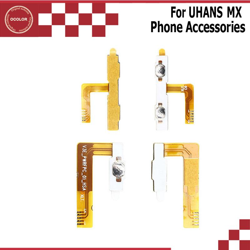 ocolor For UHANS MX Power On Off Button Cable FPC For UHANS MX Volume Key Flex Cable Cell Phone Repair Mobile Phone Accessories