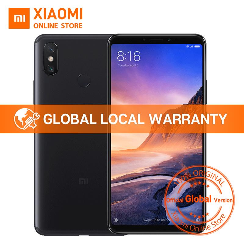 Global Version Xiaomi Mi Max 3 4GB 64GB Snapdragon 636 Octa Core 6.9 inch 18:9 Full Screen 5500mAh QC 3.0 Dual Camera Smartphone