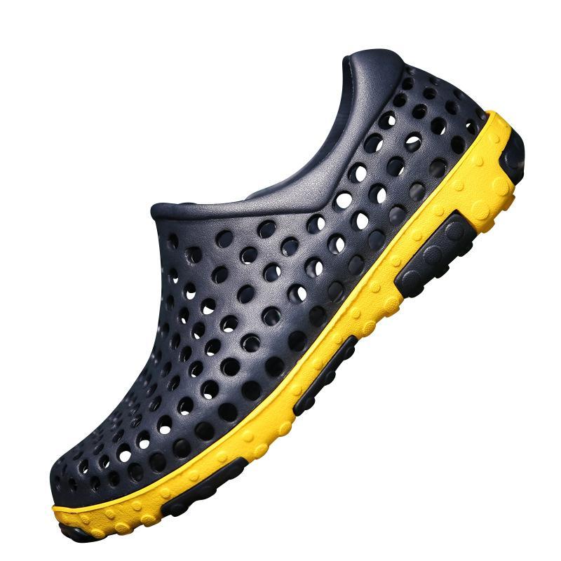 343f092418be Aqua Shoes Sandalias de playa Zapatos de verano para el agua Zapatos para  hombre Hombre río arriba transpirable Zapatillas de surf Calcetines de surf  ...