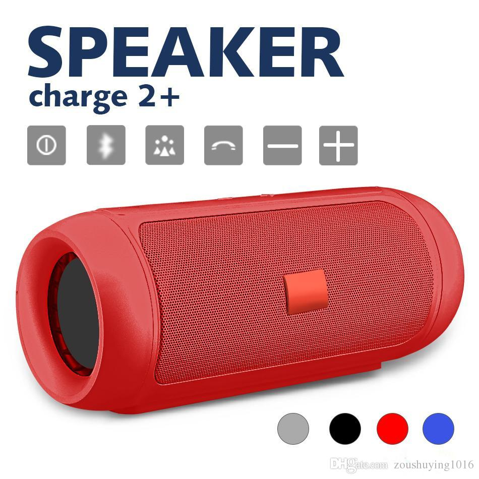 Top Sounds Quality CHarge2+ Wireless Bluetooth mini speaker Outdoor Waterproof Bluetooth Speaker Outdoor Picnic portable HiFi mini speaker
