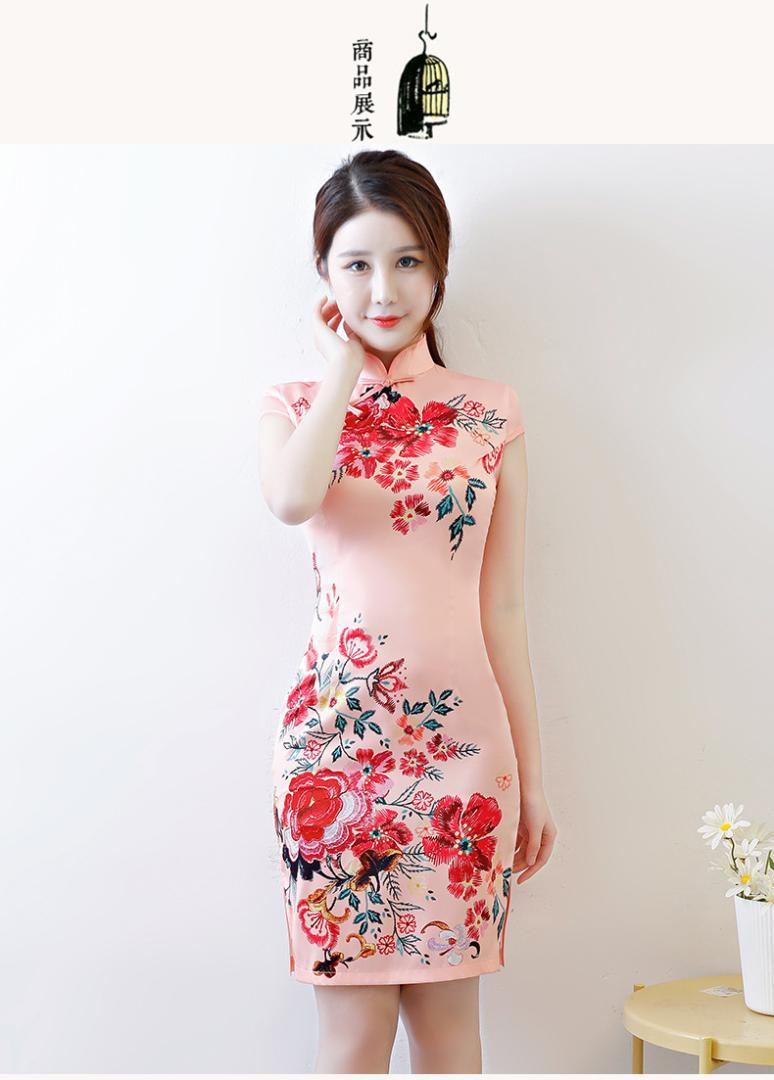 Vestiti Cerimonia Cinesi.Cerimonia Nuziale Acquista Del Vestito Cinese Da Nozze Cheongsam