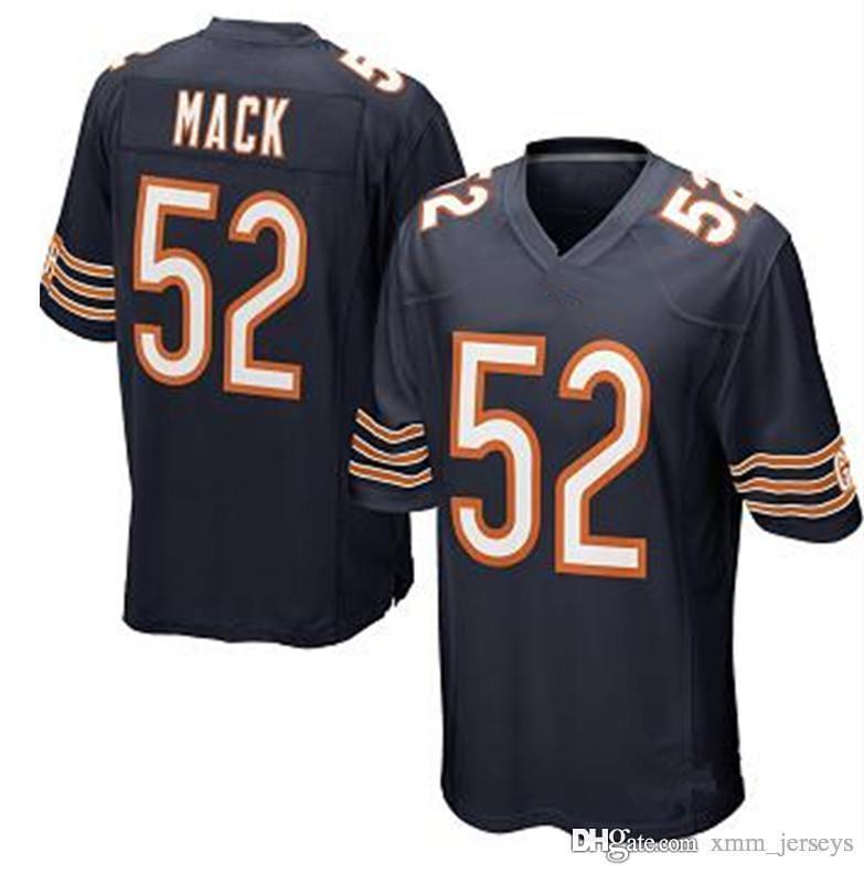 592ed62ba94 2019 Chicago Bears Jersey 52 Khalil Mack 39 Eddie Jackson Jerseys Mens 10  Mitchell Trubisky 58 Roquan Smith 24 Howard 54 Urlacher From Xmm_jerseys,  ...