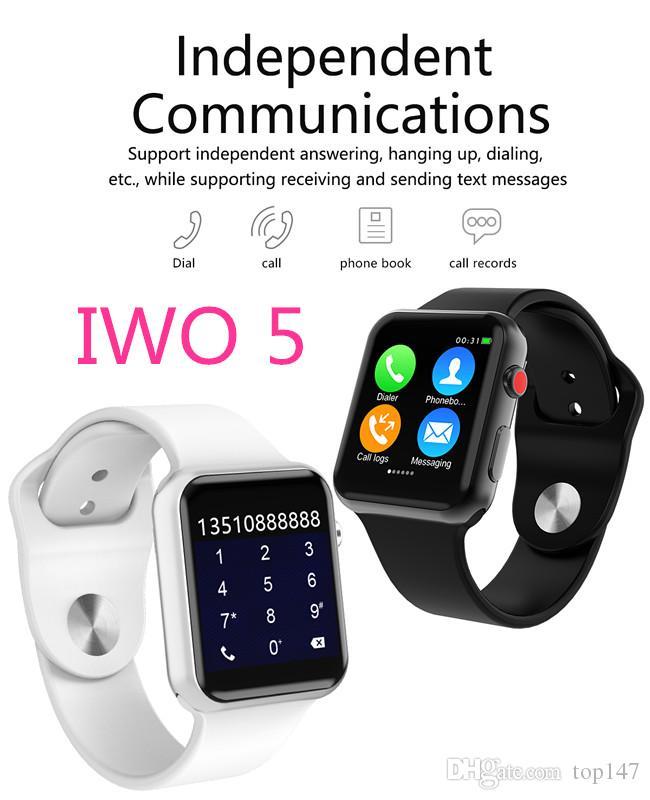 572681a9df4043 IWO 5 Smart Watch Smartwatch IOS IPhone Xiaomi Android Smart Phone NOT  Apple Watch IWO 2 3 4 Upgrade Pk Apple Watch Wearable Smart Watch Women Smart  Watches ...