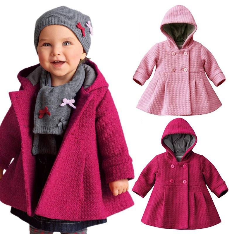 8f8b05741c96 China Baby Girl Toddler Warm Fleece Winter Pea Coat Snow Jacket Suit Clothes  Red Pink Winter Jackets For Kids On Sale Winter Jackets For Toddler Boys  From ...