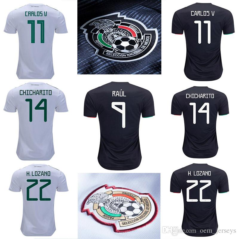 release date: 3af7f 40048 18 19 Mexico Mens CARLOS VELA 2019 2020 Soccer Jerseys CHICHARITO HIRVING  LOZANO Home Camisetas Futbol Camisas Maillot Football Shirt