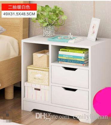 comodino armadi camera da letto comodini moderno modello nord Europa moda  popolare