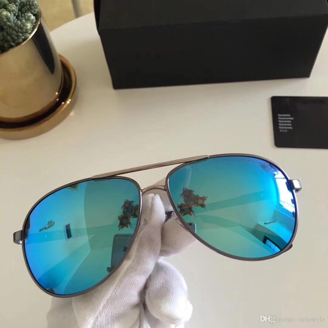 316268620e792 New Men Designer Sunglass Korean Designer Irresistor Fashion Model Square  Mirror Lens Oversized Cool Shiny Style Come With Oroignal Case Prescription  ...
