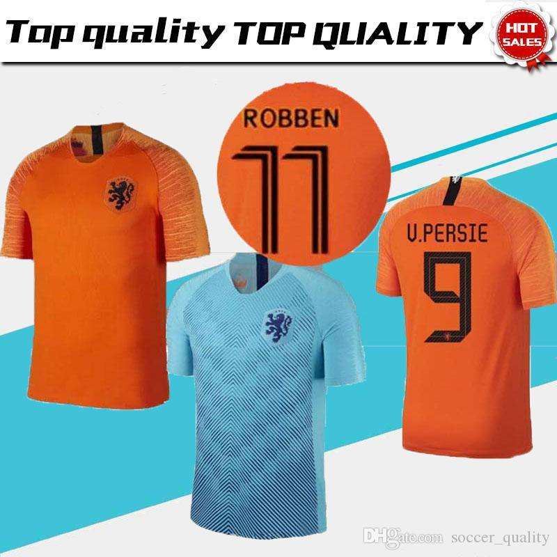 2019 2019 2020 NETHERLANDS Soccer Jersey Home Away The Netherlands Jersey  ROBBEN VIRGIL DOST NEDERLAND 18 19 MEMPHIS Dutch HOLLAND Shirts From ... 03ae8ff1d