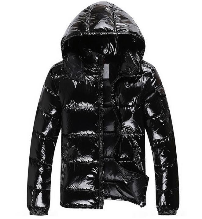 58cbeabc218a8 Brand Men Women Casual Down Jacket MAYA Down Coats Mens Outdoor Fur ...