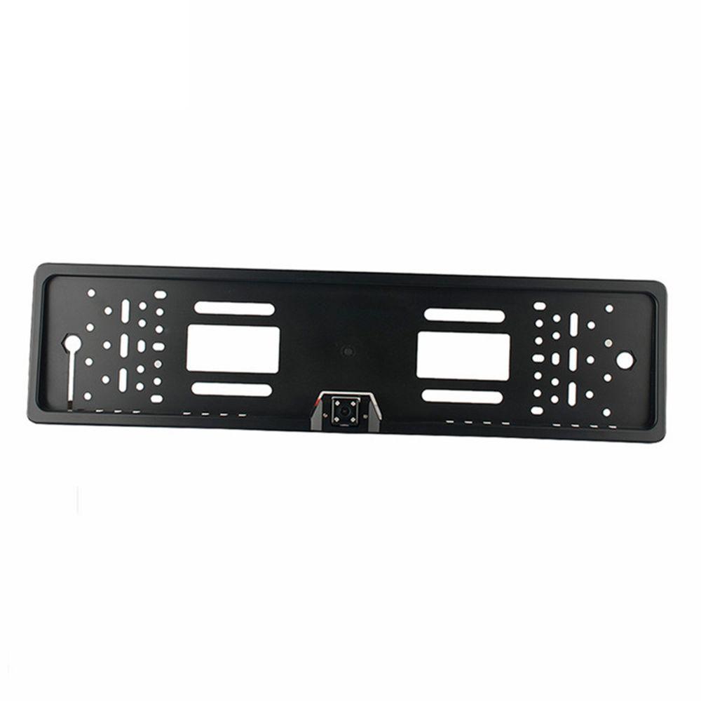 Freeshipping Europe license plate frame 170 European Universla Car License Plate Frame Auto Reverse Rear View Backup Camera 4 LED CY991-CN