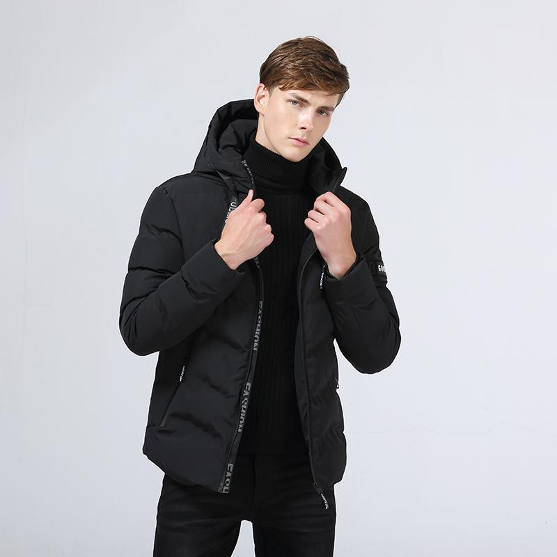 eca89595ac6 POSSO new mens casual winter jacket man outdoor warm quilted thick coat  male hooded puffer lightweight M to 4XL men cloths