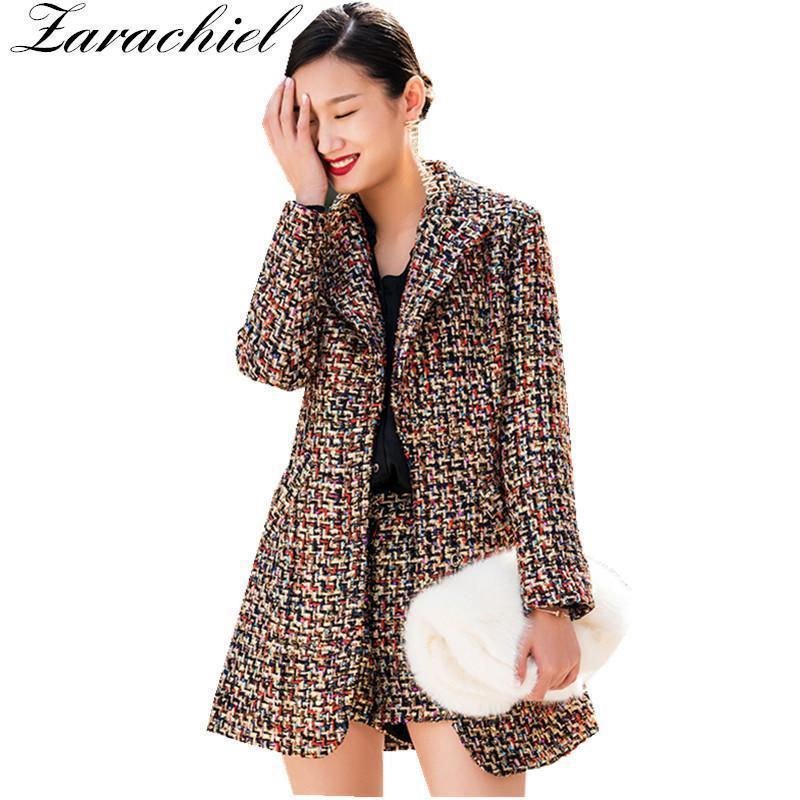 promo code e053a e5035 Cappotto da giacca cappotto scozzese corto corto