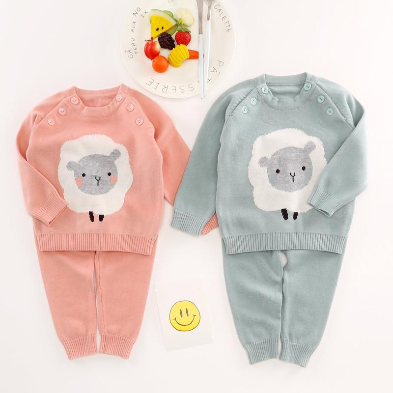 19121b101 2019 New 2019 Autumn Winter Girls Sweater Clothing Set Children Infant Boys  Sweater Children Outerwear Baby Clothing Set Kids Jackets From Xiaocao08,  ...